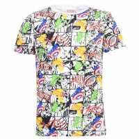 Character Мъжка Риза Short Sleeve T-Shirt Mens Marvel Мъжко облекло за едри хора
