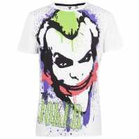 Character Мъжка Риза Short Sleeve T-Shirt Mens Joker Мъжко облекло за едри хора