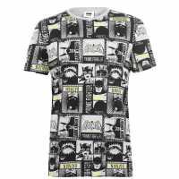 Character Мъжка Риза Short Sleeve T-Shirt Mens Batman AOP Мъжко облекло за едри хора
