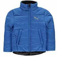 Puma Яке Момчета Padded Jacket Junior Boys Blue Детски якета и палта
