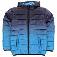 Hot Tuna Яке Момчета Gradient Jacket Junior Boys Navy/Blue Детски якета и палта