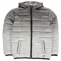 Hot Tuna Яке Момчета Gradient Jacket Junior Boys Char/Grey Детски якета и палта