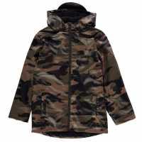 Firetrap Pu Rain Mac Junior Boys  Детски якета и палта