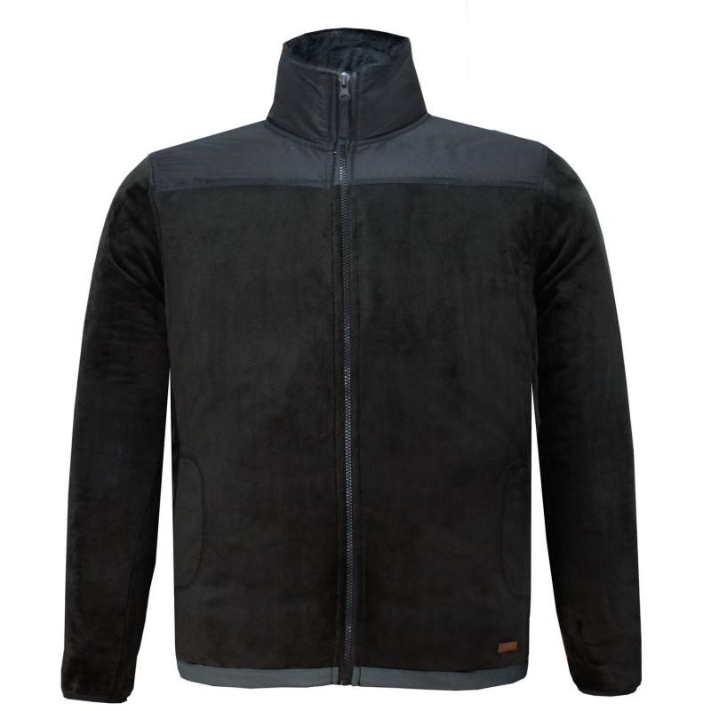 38d5fcf192d Lee Cooper Мъжко Яке Полар Fleece Jacket Mens Black/Black Мъжки горнища с  цип