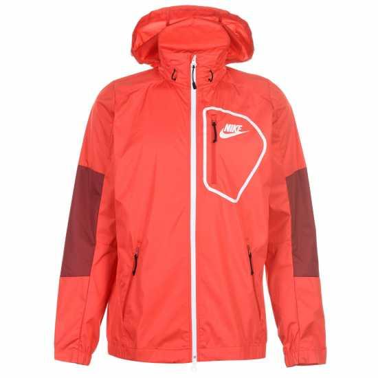 a5ee86f8cf5 Nike Тъкано Мъжко Яке Av15 Woven Jacket Mens Red Мъжки якета и палта
