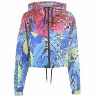 Nike Womens Tropical Print Jacket Pink/Blue Дамски якета и палта