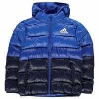 Adidas Ватирано Яке Padded Jacket Junior Navy/Blue Детски якета и палта