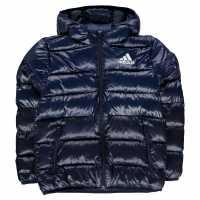 Adidas Яке Момчета Padded Jacket Junior Boys Navy/Navy Детски якета и палта