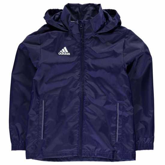 936ffe2254f Adidas Детско Яке За Дъжд Core Rain Jacket Junior Navy Детски якета и палта