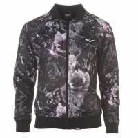 Everlast Дамско Яке Бомбър Tricot Bomber Jacket Ladies Dark Floral Дамски якета и палта