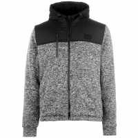 Everlast Lined Zip Jacket Black/Blk Marl Мъжки якета и палта