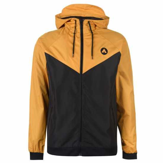 2ff811c7855 Airwalk Мъжко Яке Windbreak Jacket Mens Black/Gold Мъжки якета и палта