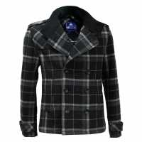 Giorgio Вълнено Палто Wool Coat Mens Grey Мъжки якета и палта