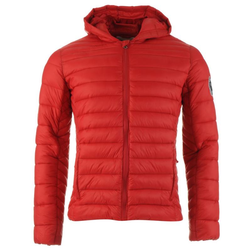 2ebdc1c3e3e Soulcal Мъжко Пухено Яке Micro Hooded Bubble Jacket Mens Red Мъжки якета и  палта