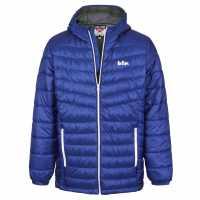 Lee Cooper Мъжко Яке X Light Hooded Down Jacket Mens Royal Мъжки якета и палта