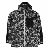 Oneill Яке Момчета Kick Ski Jacket Junior Boys Black Детски якета и палта