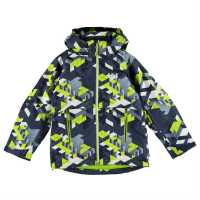 Helly Hansen Детско Яке Domino Print Jacket Junior Deep Steel Мъжки якета и палта