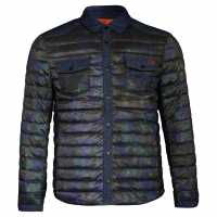 Lee Cooper Мъжко Яке Denim Patch Jacket Mens Camo Мъжки якета и палта