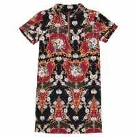 Firetrap Детска Рокля All Over Print Dress Junior Girls Baroque Детски поли и рокли