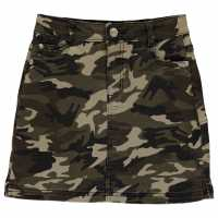 Firetrap Camo Mini Skirt Junior Girls  Детски поли и рокли