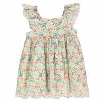 Crafted Рокля За Момиченца Woven Dress Infant Girls Multi AOP Детски поли и рокли