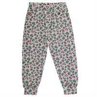 Lee Cooper Спортно Долнище Момичета All Over Print Harem Pants Junior Girls AOP Leopard Детски клинове