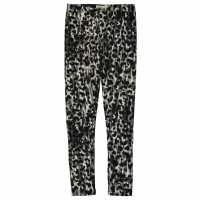 Crafted Lux Leggings Junior Girls Blk/Char Animal Йога