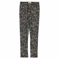 Crafted Lux Leggings Junior Girls Mono Abstract Детски клинове