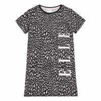 Рокля-Риза Elle Cheetah T-Shirt Dress  Детски поли и рокли