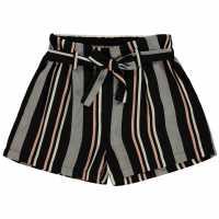 Firetrap Къси Панталони Момичета Crepe Shorts Junior Girls Jet Stripe Детски къси панталони
