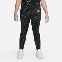 Nike Детски Клин За Момиче Aop Capri Leggings Infant Girls Black Детски клинове
