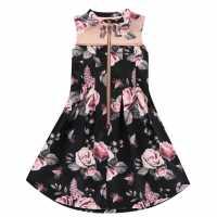 Firetrap Детска Рокля Floral Dress Junior Girls  Детски поли и рокли