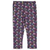 Crafted Printed Leggings Child Girls Multi Floral Детски клинове