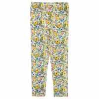 Crafted Детски Клин За Момиче Aop Leggings Infant Girls Cream Бебешки дрехи