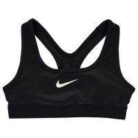 Nike Спортен Сутиен За Тинейджъри Pro Sports Bra Junior Girls Black Спортни сутиени