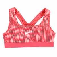 Nike Classic Aop Bra Junior Girls Red Детски тениски и фланелки