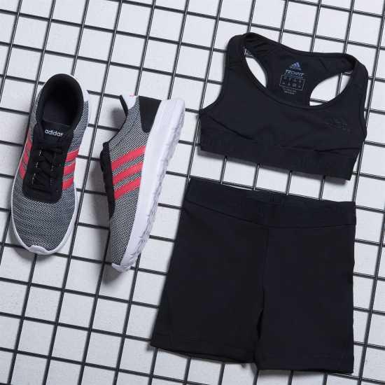 Adidas Alphaskin Sports Bra Junior Girls Black Дамски спортни сутиени