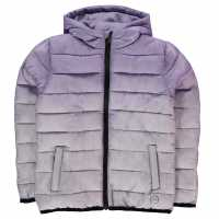 Hot Tuna Яке Момичета Gradient Jacket Junior Girls Purple/Purple Детски якета и палта