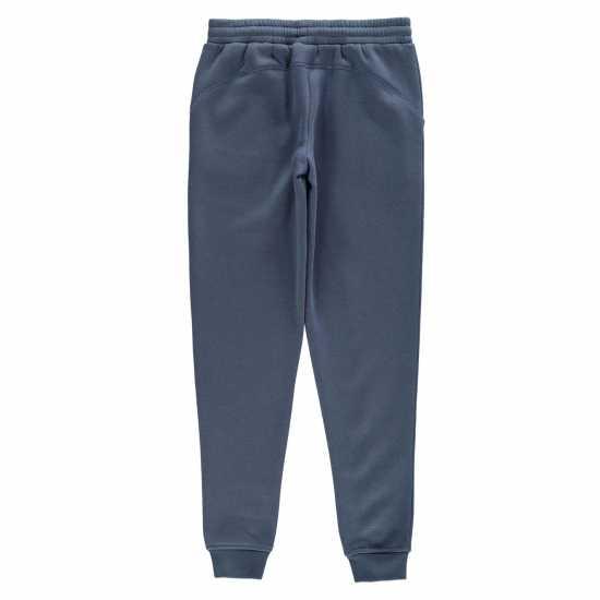 La Gear Closed Hem Jog Pant Girls Steel Blue Детски полар