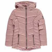 Everlast Детско Палто Bubble Coat Junior Girls Pink Icing Детски якета и палта