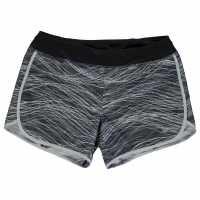 Nike Младежки Шорти С Щампа Rival Short All Over Print Shorts Junior Girls Black/Grey Детски къси панталони