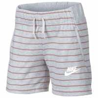 Nike Nsw Short Gl93 Birch Heather Детски полар