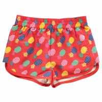 Hot Tuna Младежки Шорти С Щампа Print Shorts Junior Girls Pineapple Детски къси панталони
