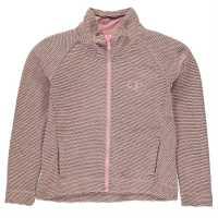 Ocean Pacific Waffle Top Junior Girls Pink Детски горнища и пуловери