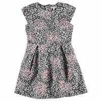 French Connection Флорална Рокля Floral Dress Black Детски поли и рокли