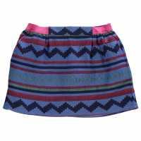 Penguin Aztec Skirt Child Girls Chambray Детски поли и рокли