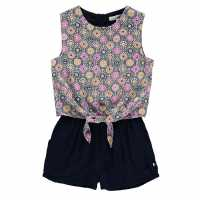 French Connection Tie Playsuit  Дамски къси панталони