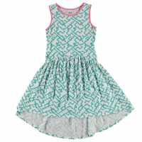 French Connection Waterful Dress Summer White Детски поли и рокли