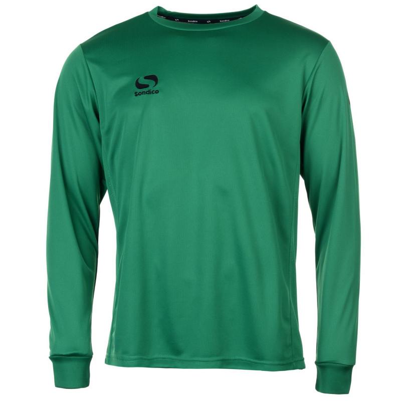 2af8f7389c5 Sondico Мъжка Риза Classic Football Shirt Mens Green Мъжки тениски и  фланелки