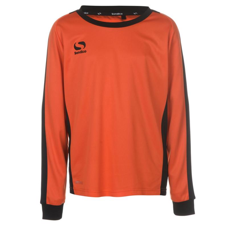 7b64e4f1a42 Sondico Тениска Момчета Colorado Performance T Shirt Junior Boys Orange/ Black Детски тениски и фланелки